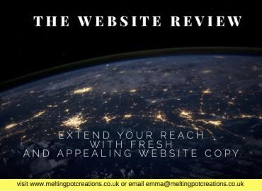 copywriting Buckinghamshire website reviews