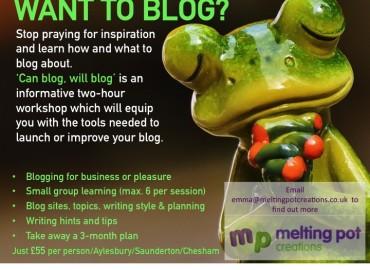 blogfrog workshops